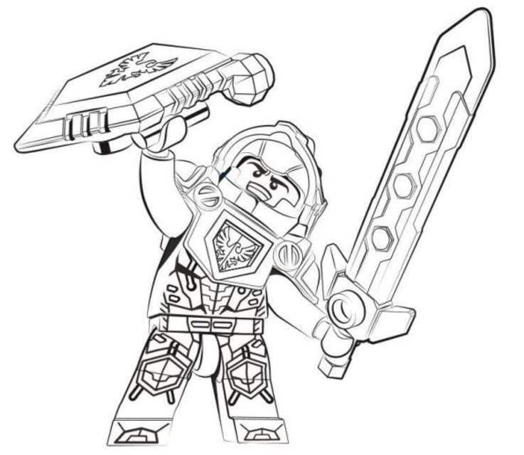 ausmalbilder ausmalbilder lego nexo knights zum