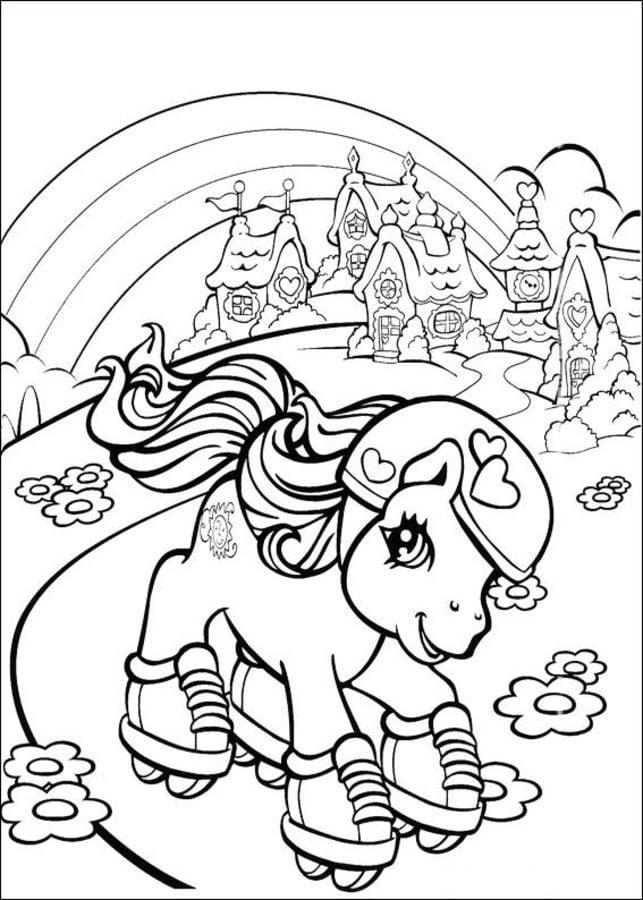 Kolorowanki: Kolorowanki: My Little Pony do druku dla