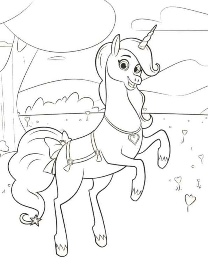 Dibujos para colorear: Nella: The Princess Knight