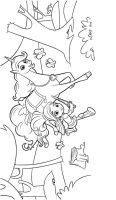 Dibujos para colorear Nella The Princess Knight ...