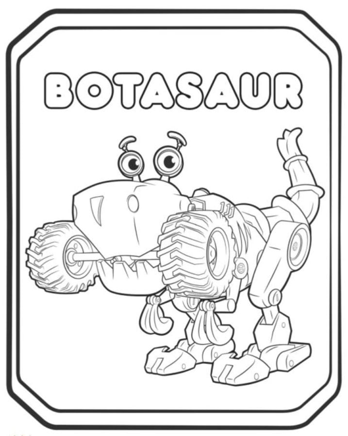 Coloring pages: Coloring pages: Rusty Rivets, printable