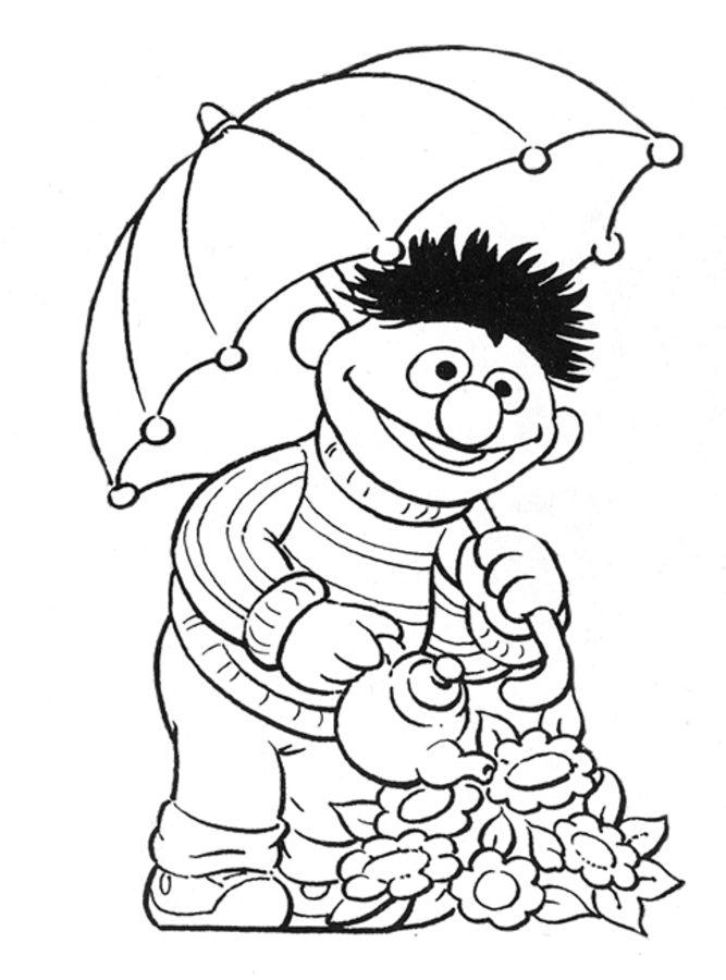 Ausmalbilder Ausmalbilder Ernie und Bert zum ausdrucken ...