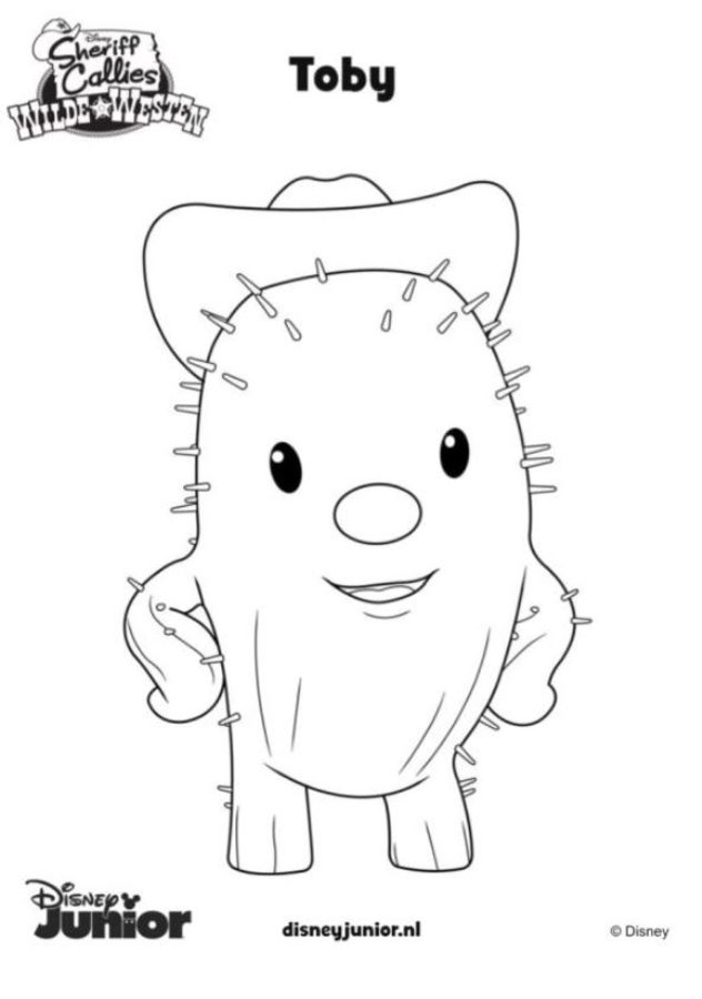 Coloring Pages Coloring Pages Sheriff Callie Printable