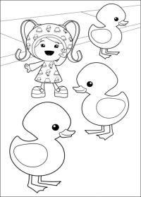 Disegni da colorare: Umizoomi stampabile, gratuito, per ...