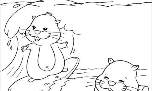 Dibujos Para Colorear Pata Daisy Imprimible Gratis Para