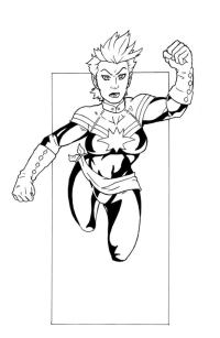 Comics Para Colorear Marvel Deadpool Coloring Pages