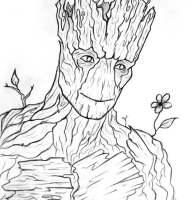 Coloriages Groot imprimable, gratuit, pour les enfants et ...