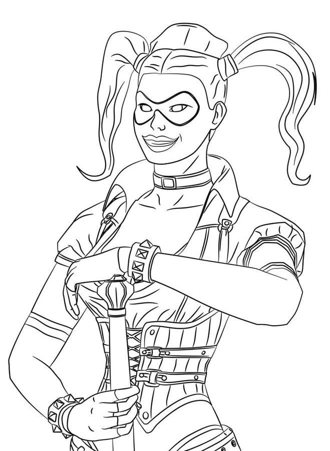 Harley Quinn Bande dessinée Coloriages DC Comics