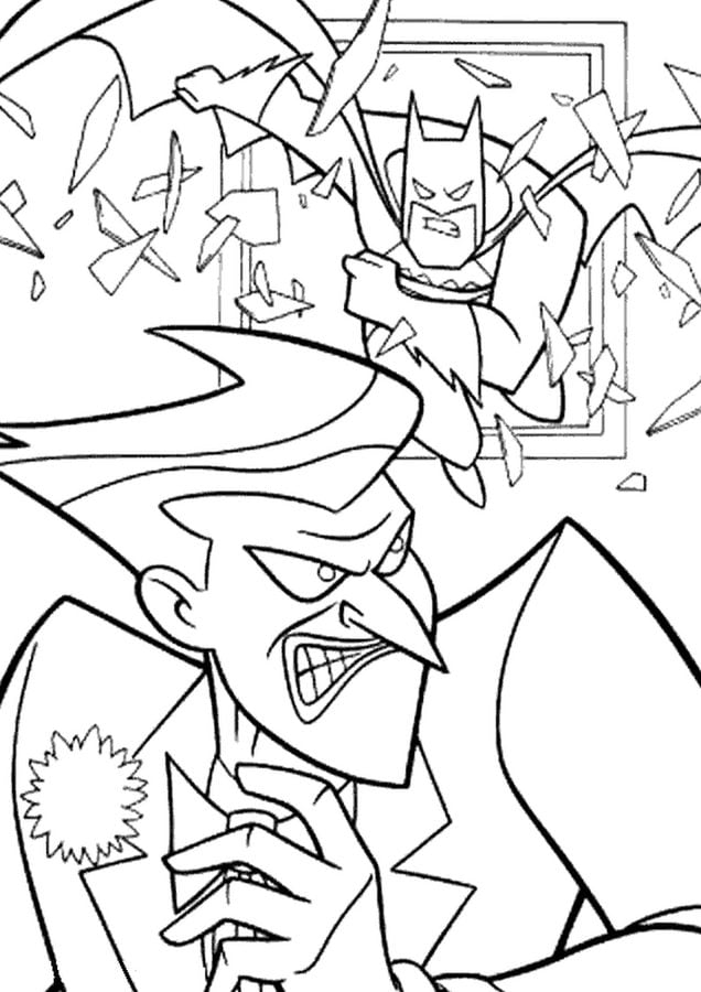 Coloring Pages Coloring Pages Joker Printable For Kids Adults Free