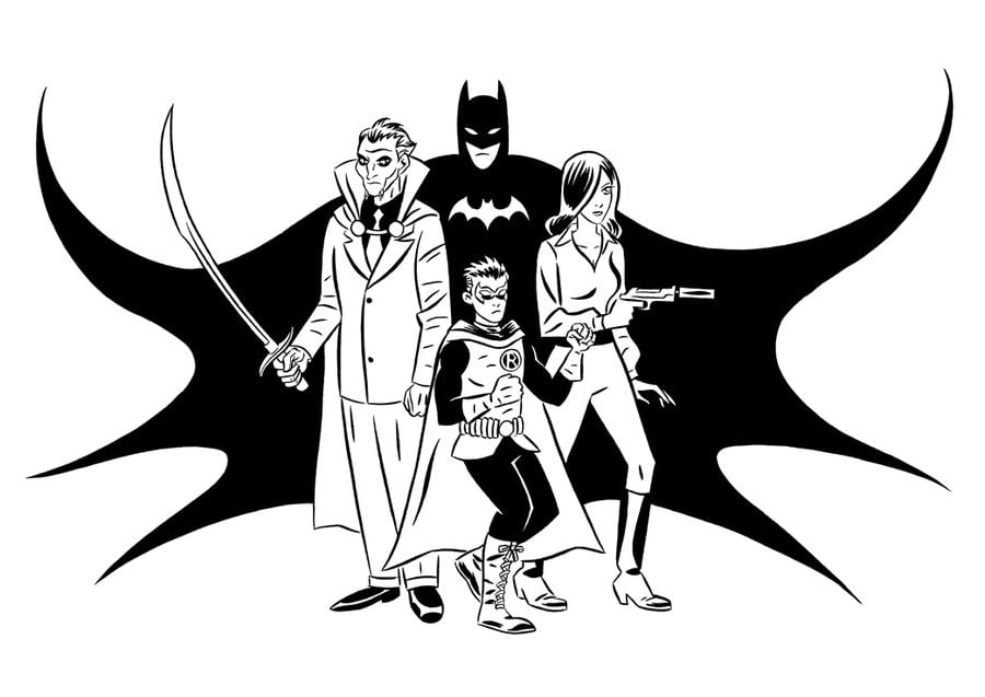 Ra's al Ghul Bande dessinée Coloriages DC Comics