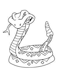 Ausmalbilder: Ausmalbilder: Klapperschlange zum ausdrucken ...