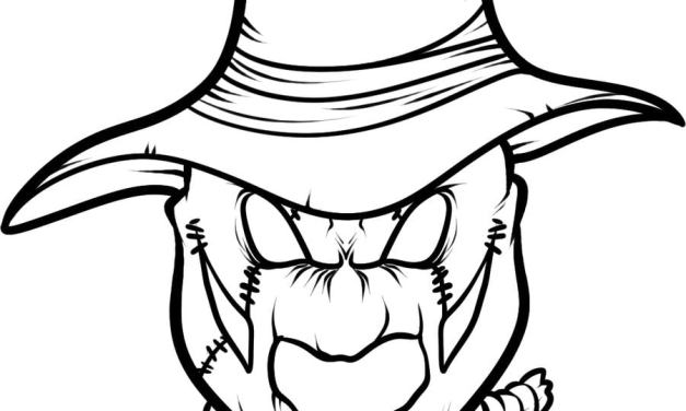 Coloring pages: Scarecrow