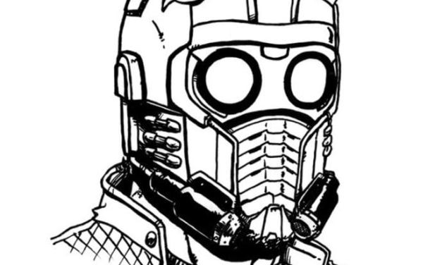 Coloring pages: Star-Lord