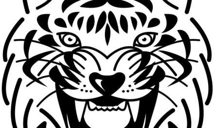 Ausmalbilder: Tiger