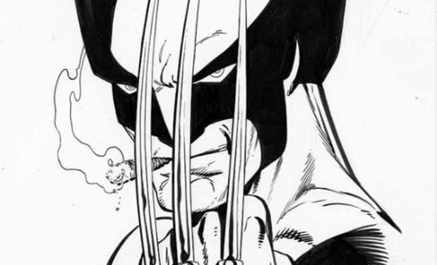 Coloring pages: Wolverine
