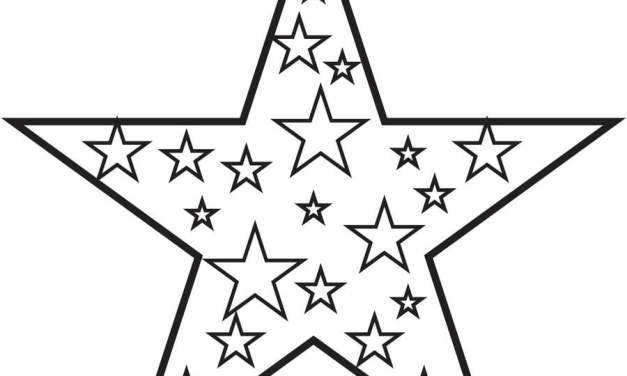 Ausmalbilder: Stern