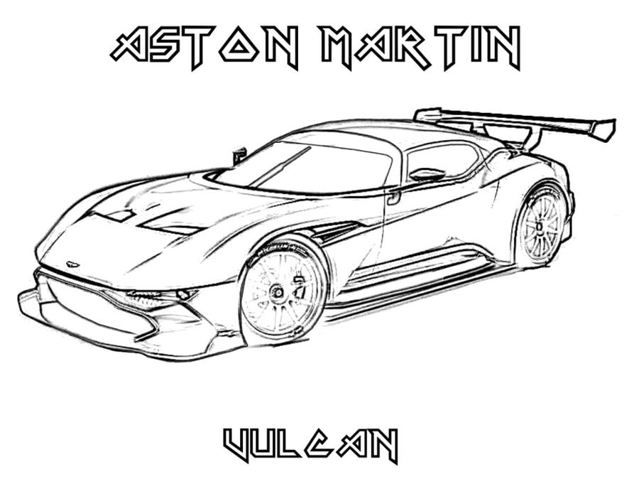Coloring Pages Coloring Pages Aston Martin Printable