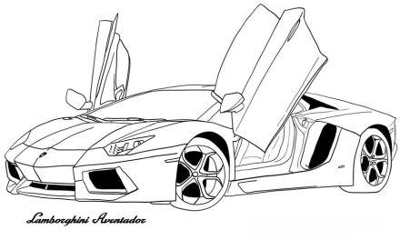 Ausmalbilder: Lamborghini