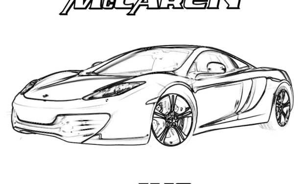 Coloring pages: McLaren