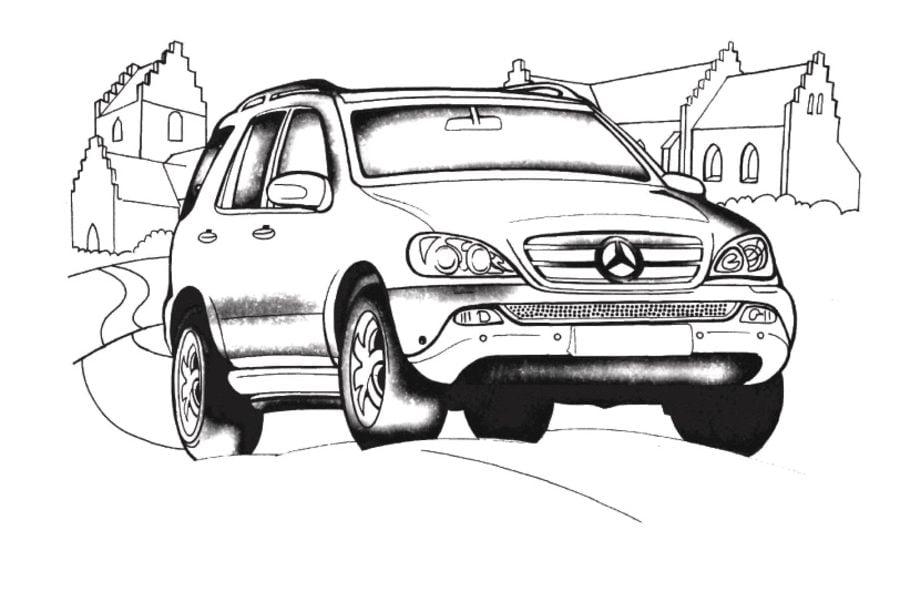 Ausmalbilder: Ausmalbilder: Mercedes zum ausdrucken ...