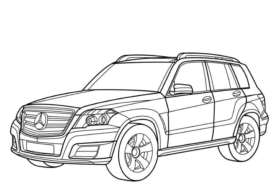 Disegni da colorare: Disegni da colorare: Mercedes
