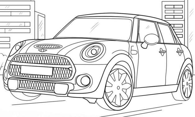 Disegni da colorare: Automobili stampabile, gratuito, per