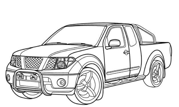 Ausmalbilder: Nissan