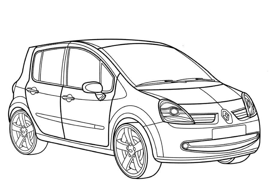Disegni da colorare: Disegni da colorare: Renault