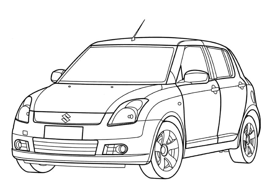 Suzuki Wagon Schaltplang