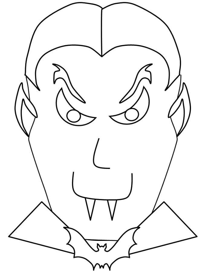 Disegni da colorare: Disegni da colorare: Vampiro