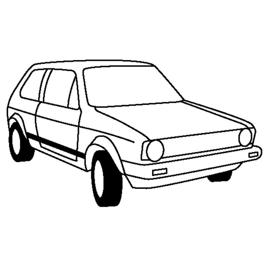 Ausmalbilder: Volkswagen zum ausdrucken, kostenlos, für