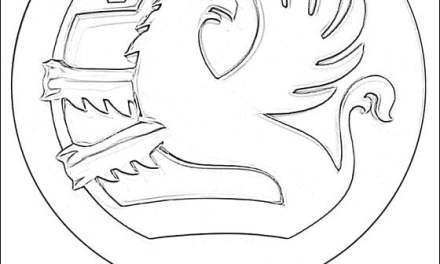 Ausmalbilder: Vauxhall – logo