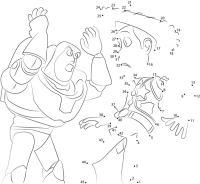 Unir puntos: Toy Story imprimible, gratis, para los nios ...