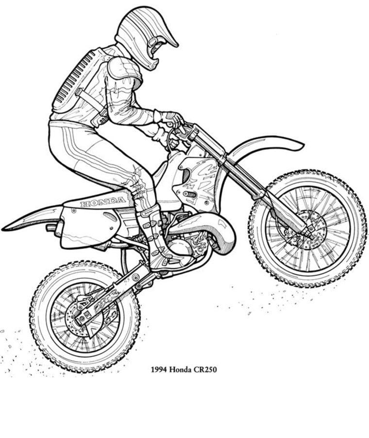 40 motocross bilder zum ausmalen - besten bilder von