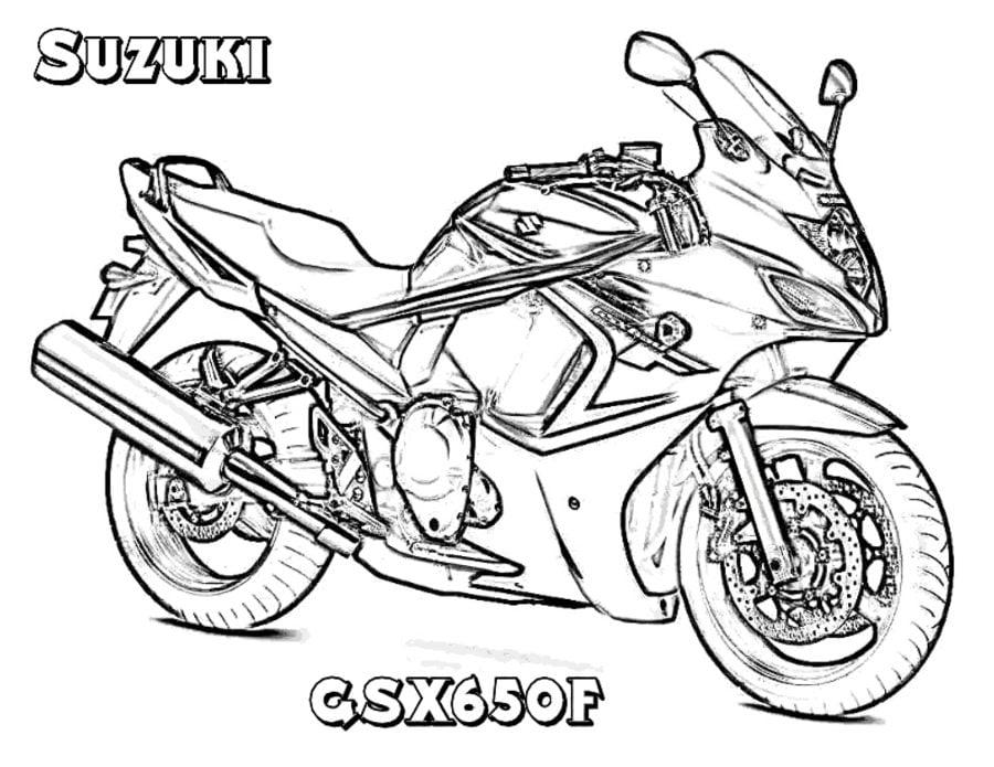 Ausmalbilder: Ausmalbilder: Suzuki zum ausdrucken