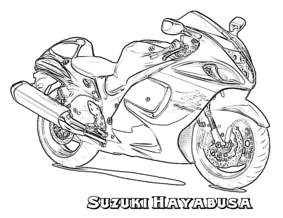 Coloriages: Suzuki imprimable, gratuit, pour les enfants