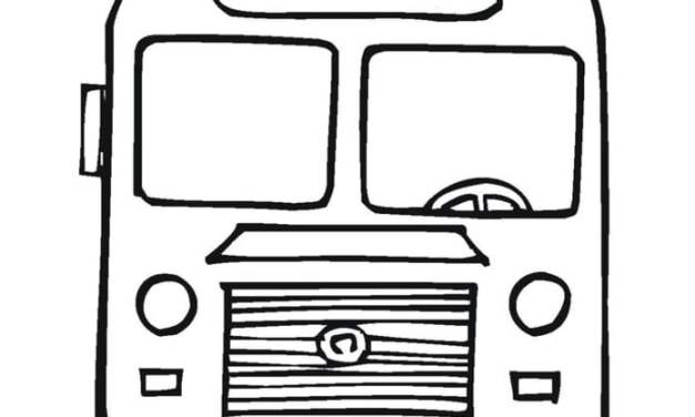 Coloring pages: Bus