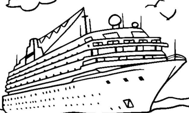 Coloring pages: Ship