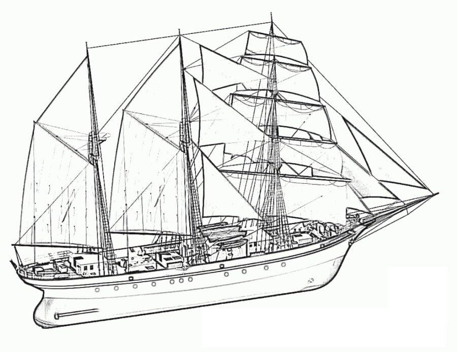 ausmalbilder ausmalbilder schiff zum ausdrucken