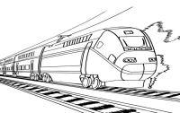 Disegni da colorare: Disegni da colorare: Treno stampabile ...