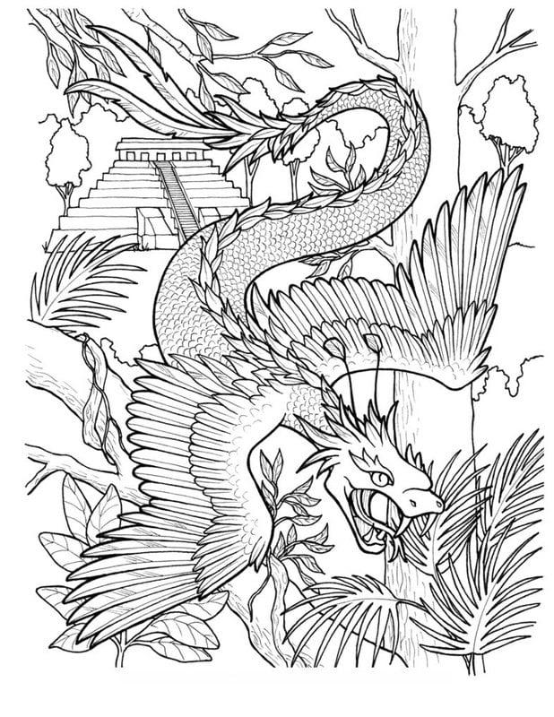 fantasy creatures coloring pages | Ausmalbilder für erwachsene: Fantasy zum ausdrucken, kostenlos