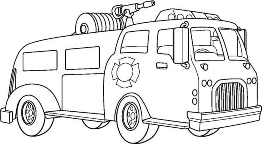 Disegni da colorare: Disegni da colorare: Camion dei