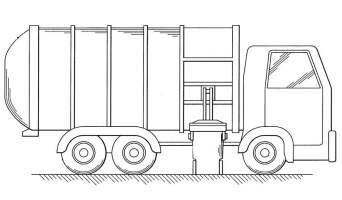 Ausmalbilder Ausmalbilder Müllwagen zum ausdrucken ...