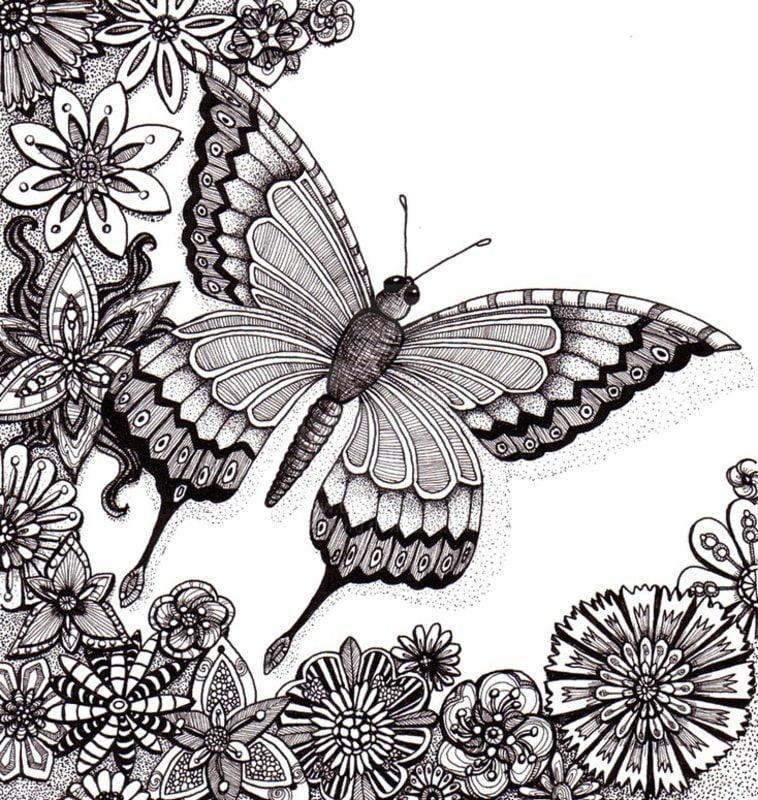 Dibujos Para Colorear Para Adultos Verano Imprimible