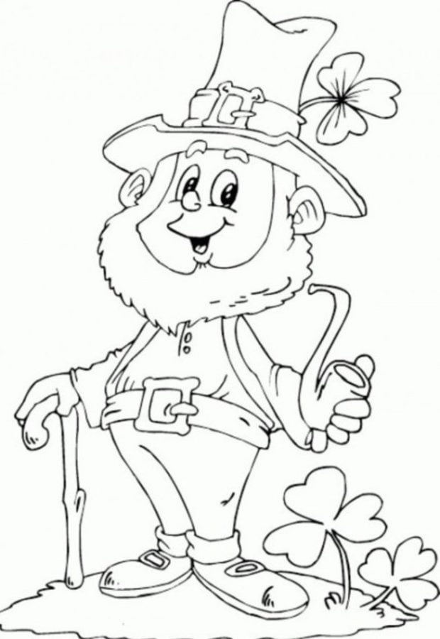 Coloring Pages Coloring Pages Leprechaun Printable For Kids Adults Free To Download