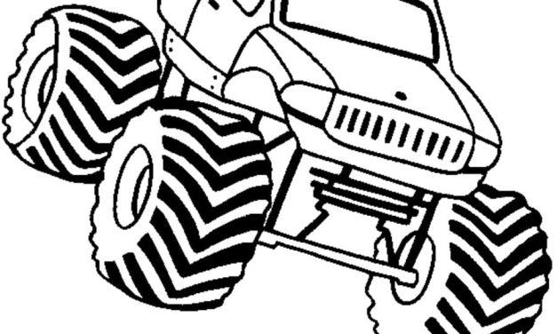 Ausmalbilder: Geländewagen