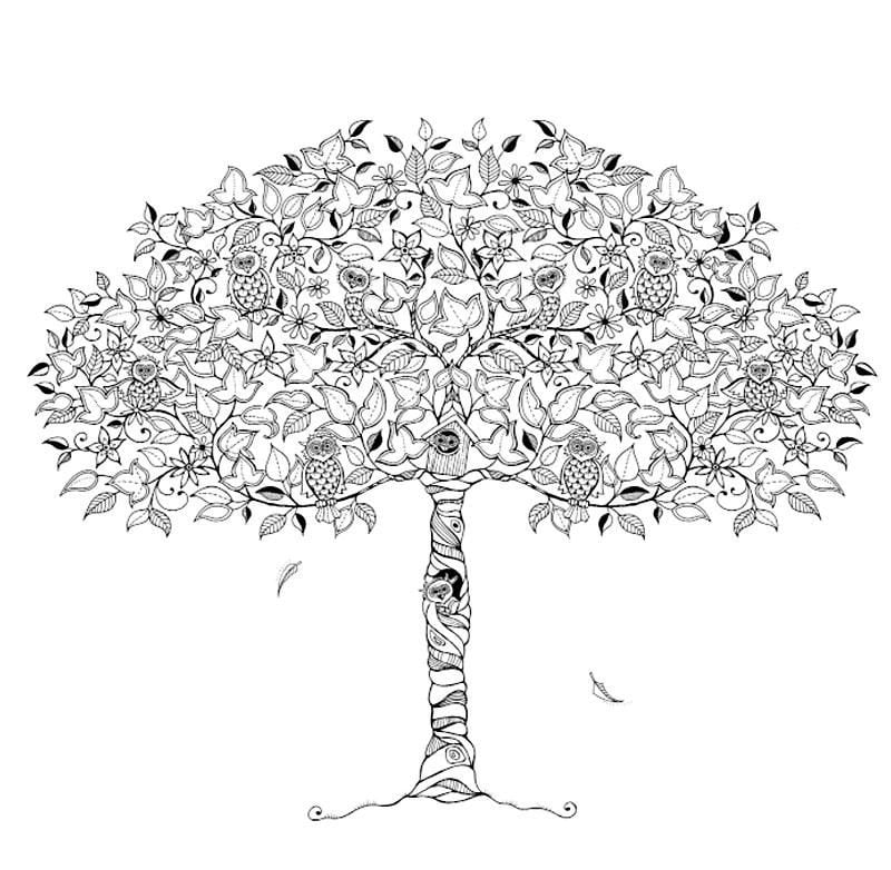 - Coloring Pages For Adults: The Secret Garden, Printable, Free To Download
