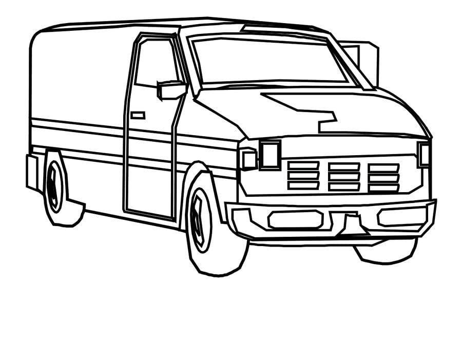 Coloring Pages Coloring Pages Van Printable For Kids Adults Free