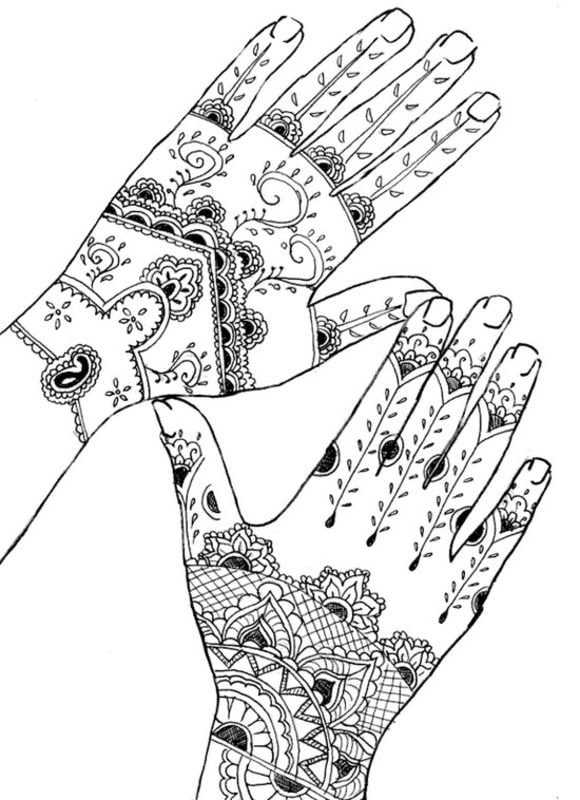 Coloring Pages For Adults Tattoo Printable Free To