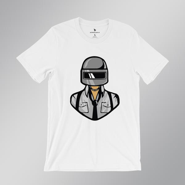 Áo game PUBG man - áo trắng